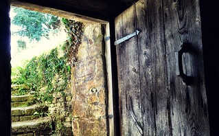 Door from crypt to churchyard | by William Parsons Pilgrim