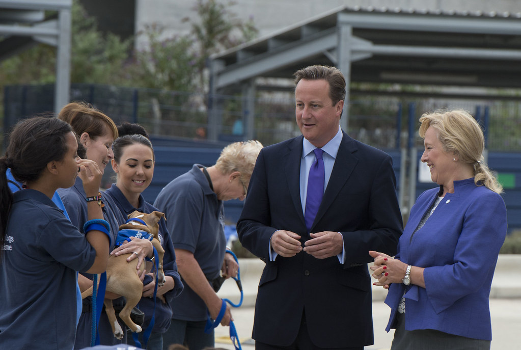 On Eve Of British Pm Camerons Visit >> David Cameron Visits Battersea Dogs Cats Home Prime Mini Flickr