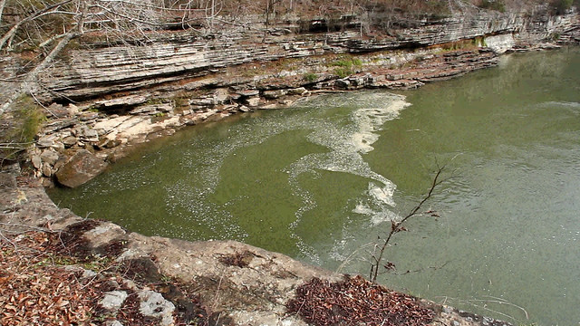 Swirls on the Caney Fork River, Rock Island SP, White Co, TN