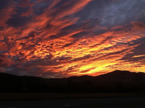 sunrise montana redsky sapphiremountains
