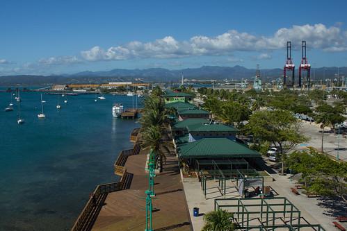 city sea urban water port marina puerto mar waterfront puertorico rico tropical boardwalk caribbean ponce caribe tablado guancha