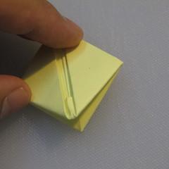 การพับกระดาษเป็นรูปเรือใบ (Origami Boat – 船の折り紙) 010