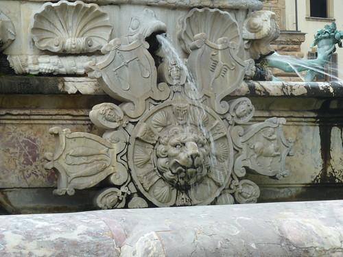 Lion head with zodiac. | by Paul J. Morris