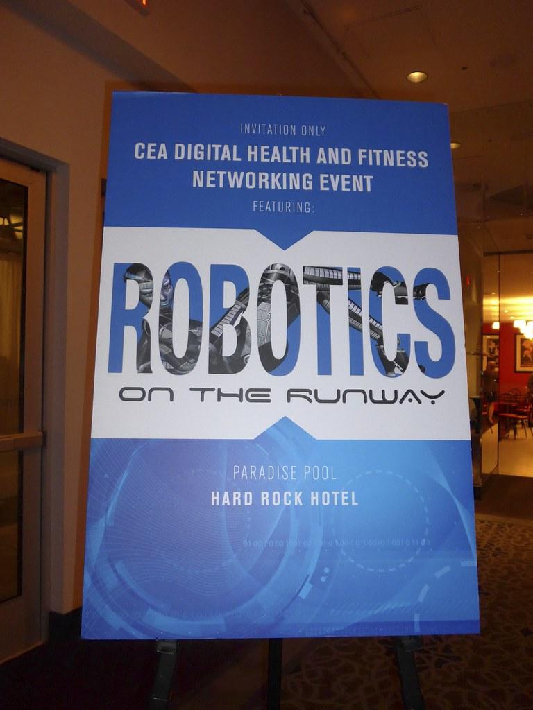 Living in Digital Times 2014 Robotics on the Runway 3