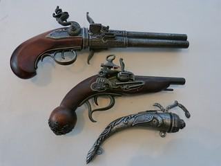 Flintlock pistols 15 | by Elsie esq.