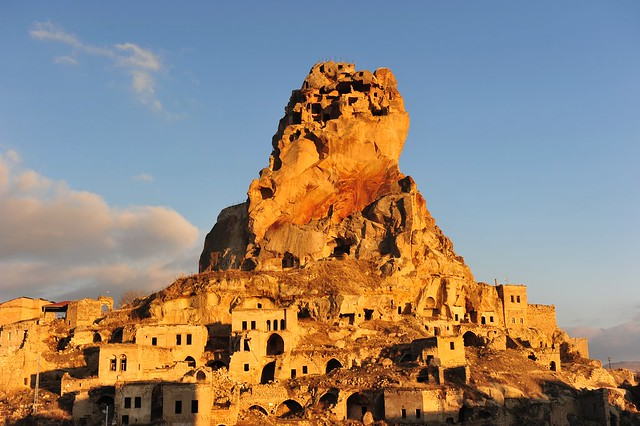 Ortahisar Castle, Cappadocia (Kapadokya, Turkey) 1259