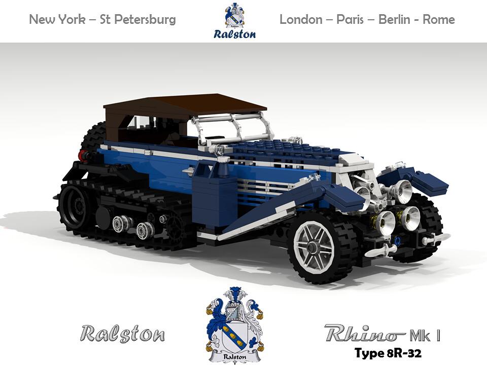 Ralston Rhino Mk I Type 8R-32 (1932) Tourer Half Track | Flickr