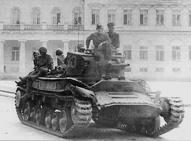 "Tank ""Valentine IV» 3e Front biélorusse"