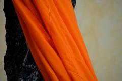 Buddhist robes in Wat Langka, Phnom Penh