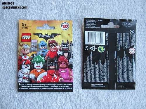 Lego Minifigures The Lego Batman Movie p1