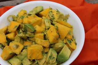 mango and avocado salad | by ktswanson