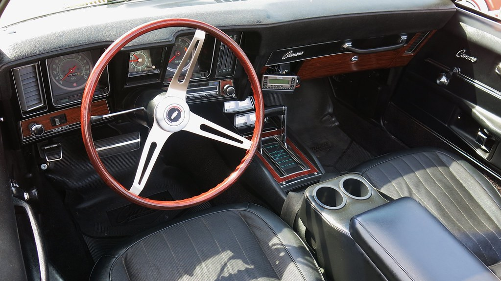 1969 Chevrolet Camaro Ss Convertible Interior Custom Cab