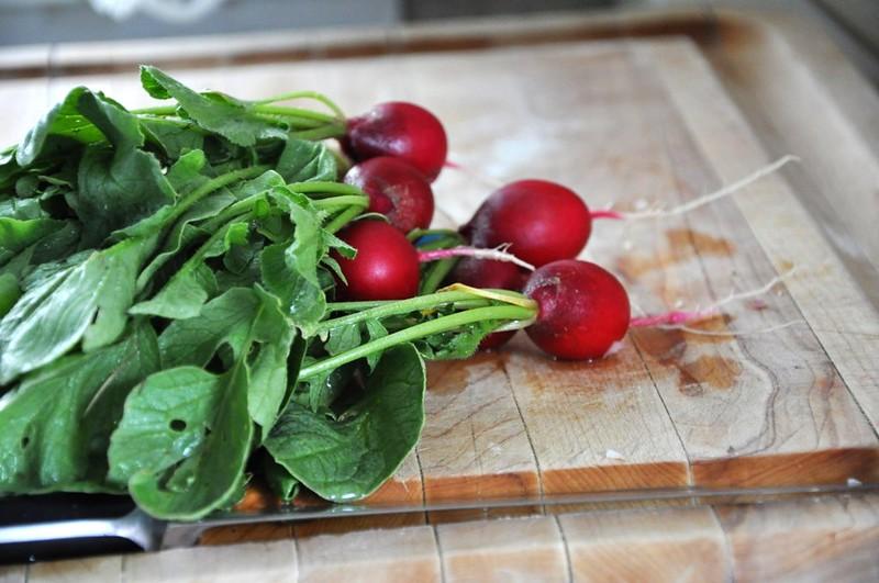 Braised Garden Radishes