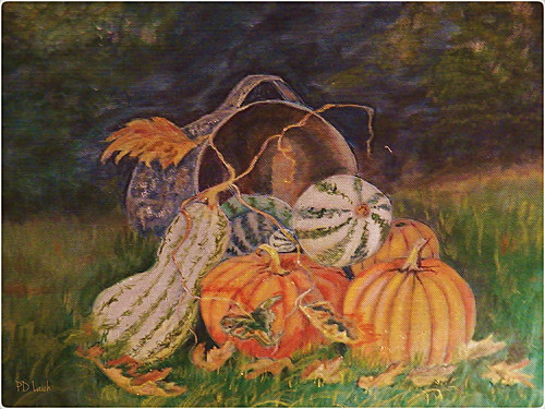 autumn orange usa art gourds vintage painting wire artwork acrylic folkart mesh pennsylvania pumpkins historical layers screens windowscreen screenpainting paintedwindowscreen vintageartform pdlaich ©pdlaich handpaintedwindowscreen paintingonscreens missypenny