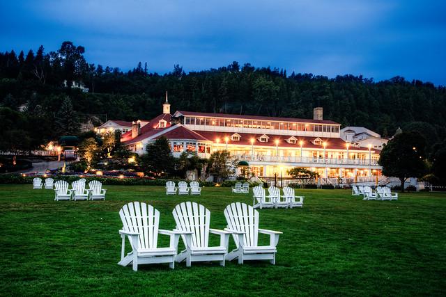 Twilight at Mission Point Resort