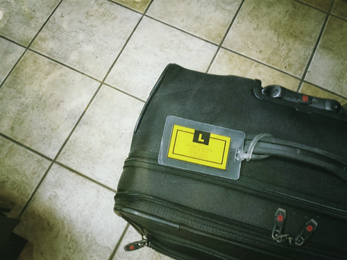 Luggage tag   by Mike Lunt