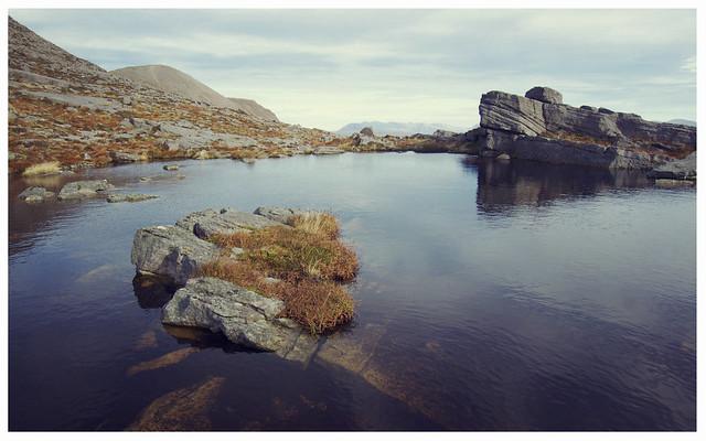 Lochan on Quinag, Assynt
