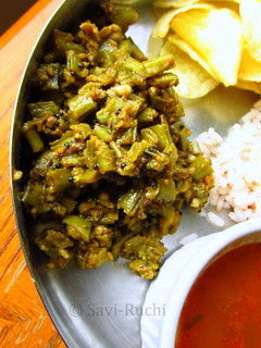 cluster_beans_dry_sabzi | by Sushma Madhuchandra