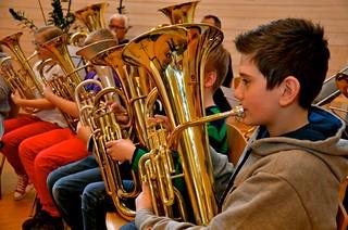 Lilla Brassbandfestivalen 2013 - Albert Kvarnvik, Åsenhöga (foto: Olof Forsberg)