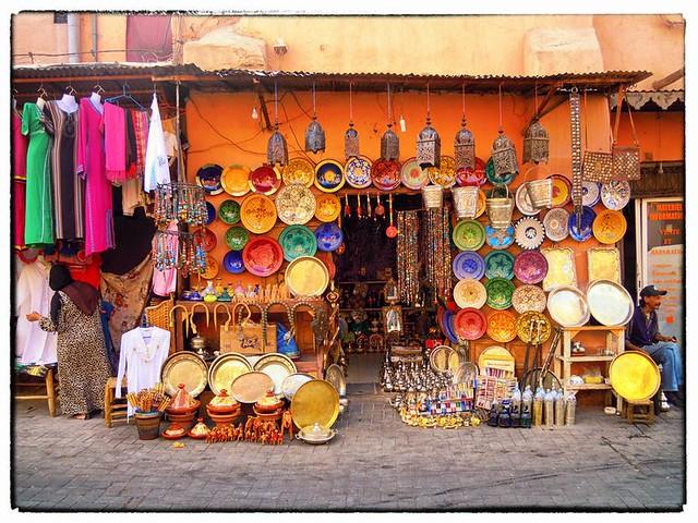 Marrakesh Souk.