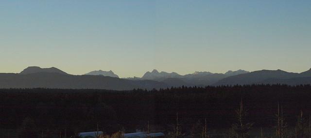 Berchtesgaden Morgendunst