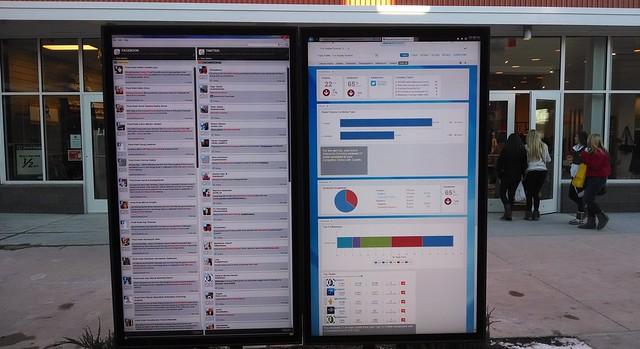 Live Social Media at Nebraska Crossing Outlet Mall