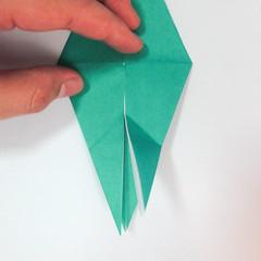 สอนวิธีการพับกระดาษเป็นรูปปลาฉลาม (Origami Shark) 024