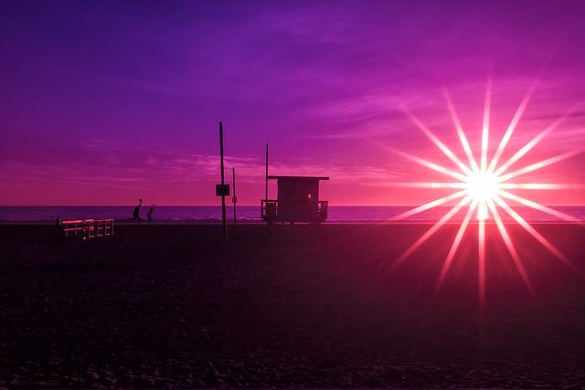 double sunny. venice beach, ca. 2014.