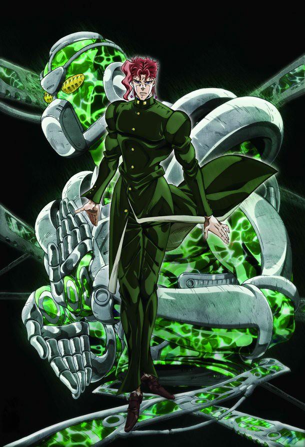 140219(4) – 熱血動畫續集《JoJo的奇妙冒險 第三部:星塵鬥士》發表最新四位角色海報、鎖定4/4開播!【3/15更新】
