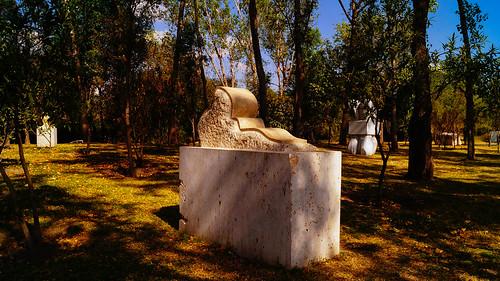 Esculturas del ecoparque