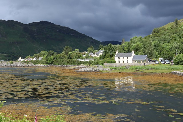 Cottage across the Loch