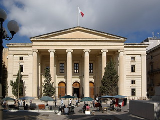 Valletta - Courts of Justice building-
