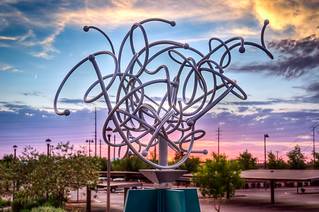 Tumbleweed Statue, Chandler, AZ | by Steven Gerner