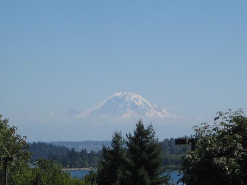 Mt. Rainier from I-90 Overlook