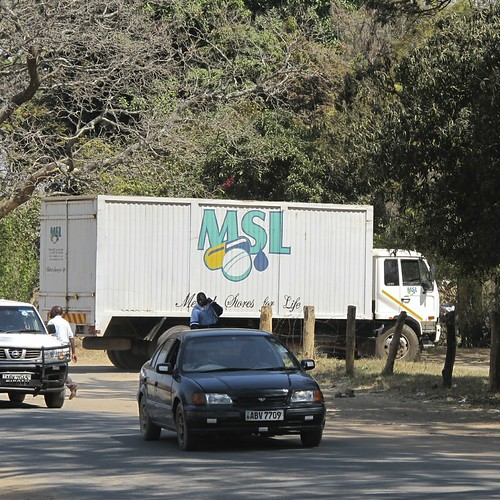 MSL truck delivers essential medicines to Choma Hospital (square) | by ColaLife
