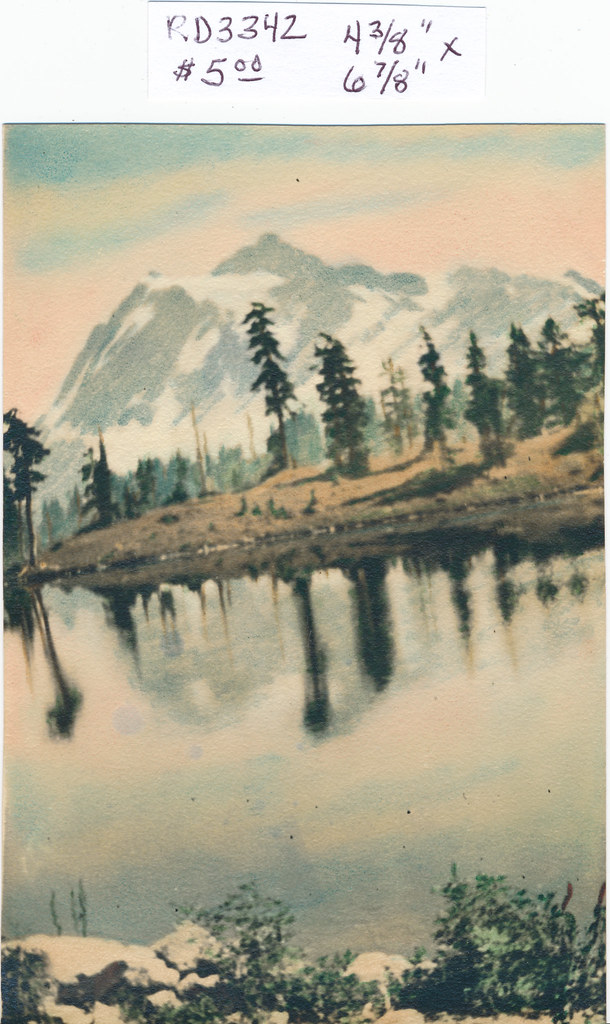RD3342 Mountain and Water Print