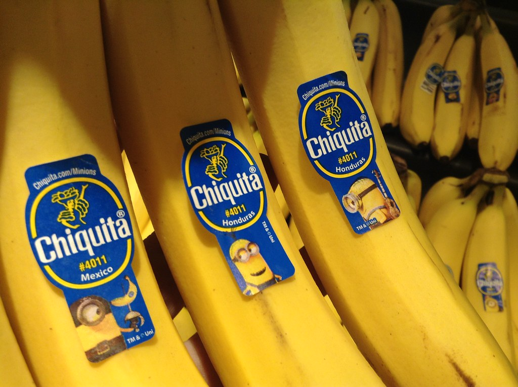 Chiquita Bananas Minions Movie Stickers 62015 By Mike M Flickr