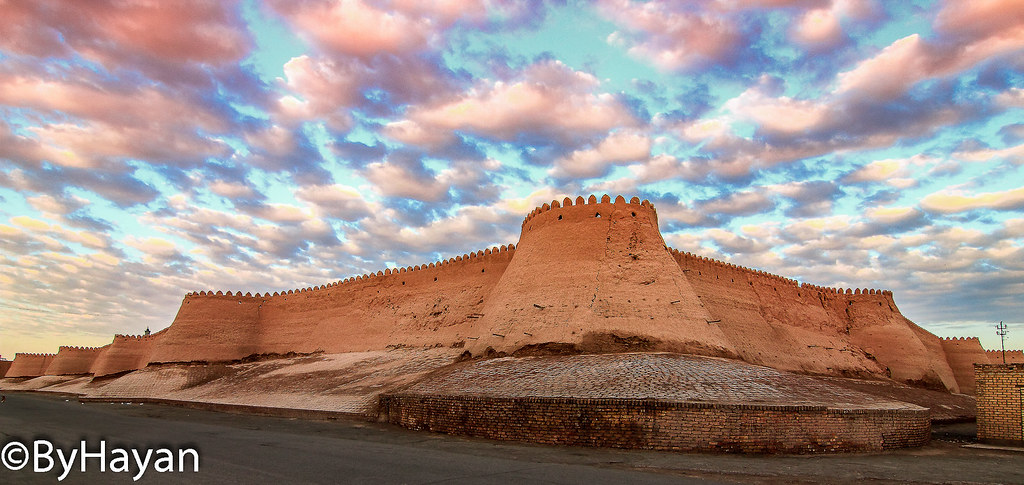 Khiva [Ichan Kala ] Ctiy Walls Uzbekistan.