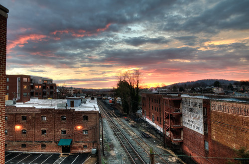 charlottesville virginia hdr sunrise downtown nikonafsdx1755mmf28gifed photomatix d300