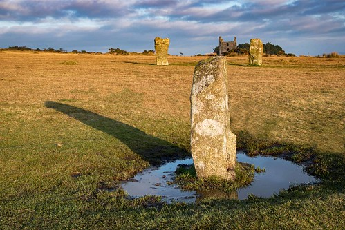 hurlers stones moor bodminmoor ancient cornwall sky grass water nikon d500