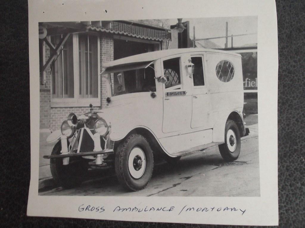 Gross Mortuary Vintage Ambulances, Hot Springs, Arkansas