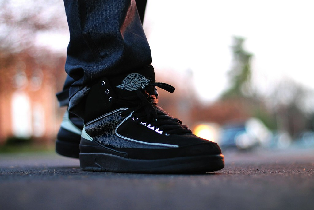 best service 4a981 d0814 Air Jordan 2 Retro Blk/Chrome | LG 703 | Flickr