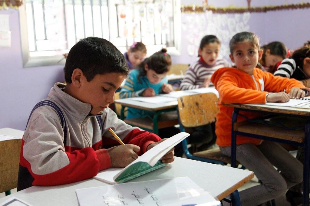 Getting Syria's children back to school in Lebanon