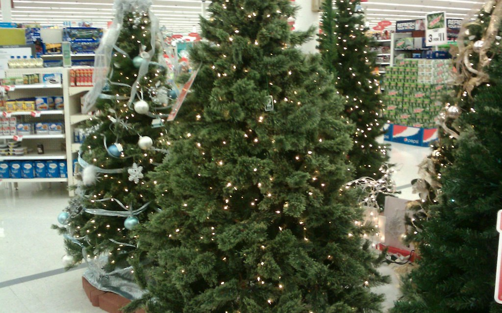 Kmart Christmas Trees.Kmart Christmas Trees There Were Quite A Number Of Trees T