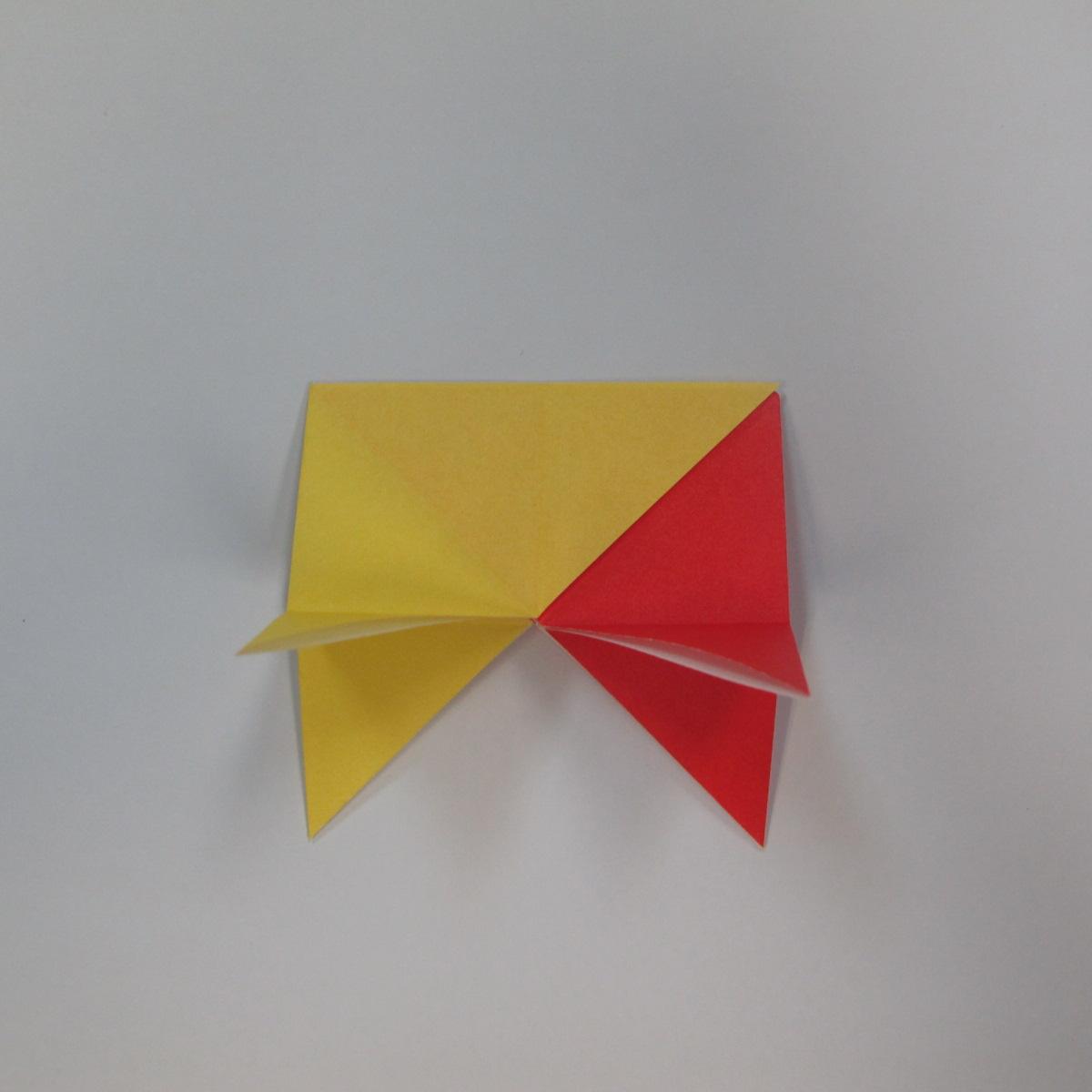 วิธีการพับกระดาษเป็นดาวหกแฉกแบบโมดูล่า 010