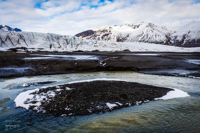 Glacier at Vatnajökull National Park