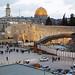 Jeruzalém, Chrámová hora z židovské čtvrti, foto: Luděk Wellner