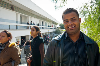 Mahran  a Faculty of Law student at the University of Tunis   by World Bank Photo Collection