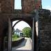 Krakovec, výhled z brány hradu, foto: Petr Nejedlý