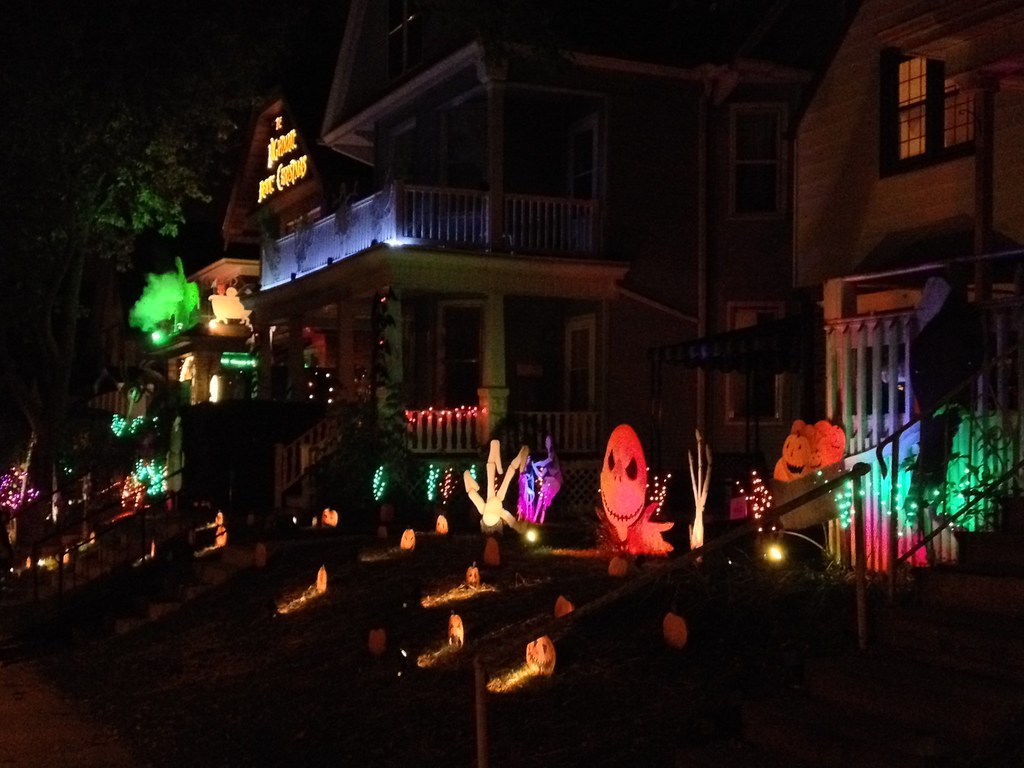 Nightmare Before Christmas Houses.Nightmare Before Christmas Houses In Bay View Milwaukee